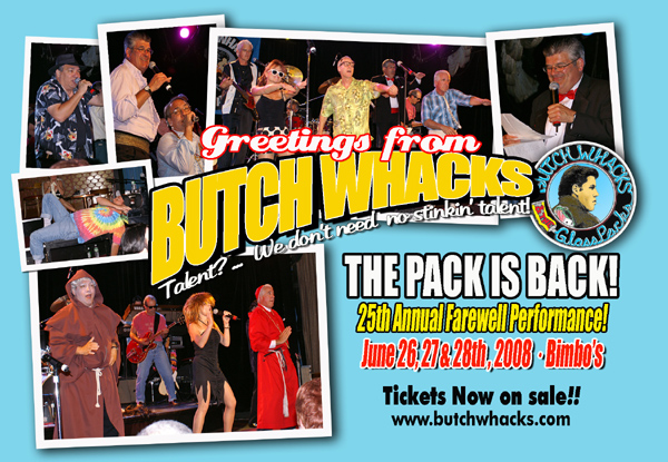 Butch Whacks postcard Mar08